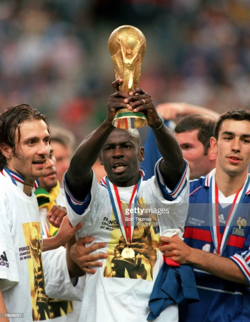 1998 World Cup Final St Denis France 12th July 1998 France 3