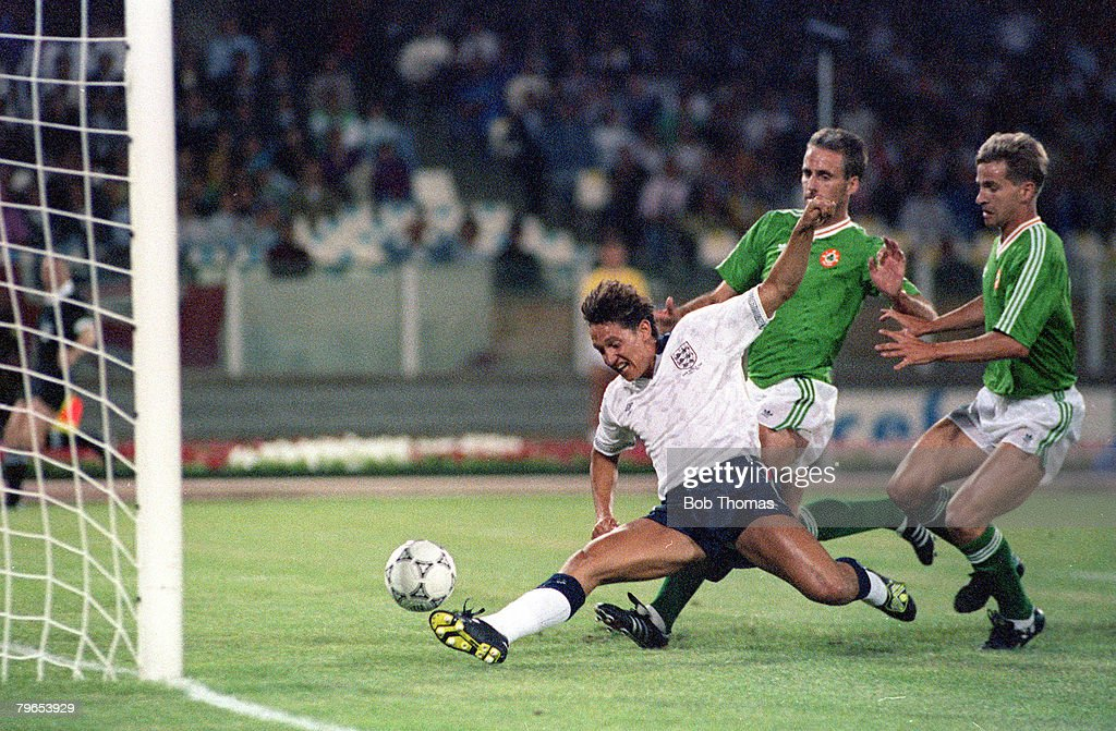 Image result for gary lineker goal 1990 vs ireland