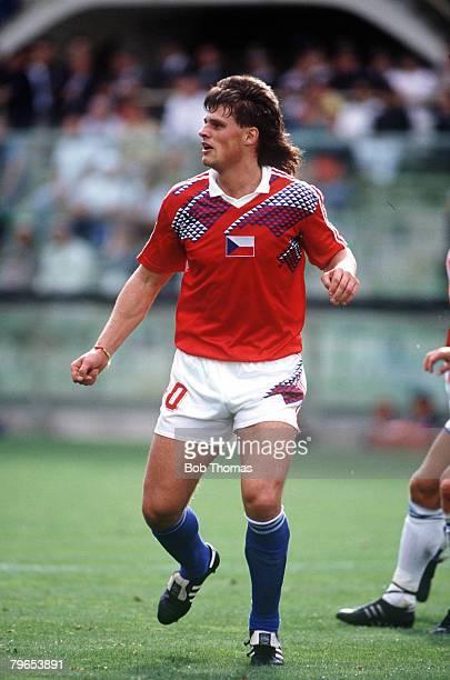 World Cup Finals Florence Italy 10th June Czechoslovakia 5 v USA 1 Czechoslovakia's Thomas Skuhravy