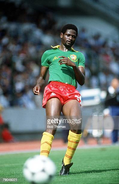 World Cup Finals La Coruna Spain 19th June Poland 0 v Cameroon 0 Cameroon's Theophile Abega
