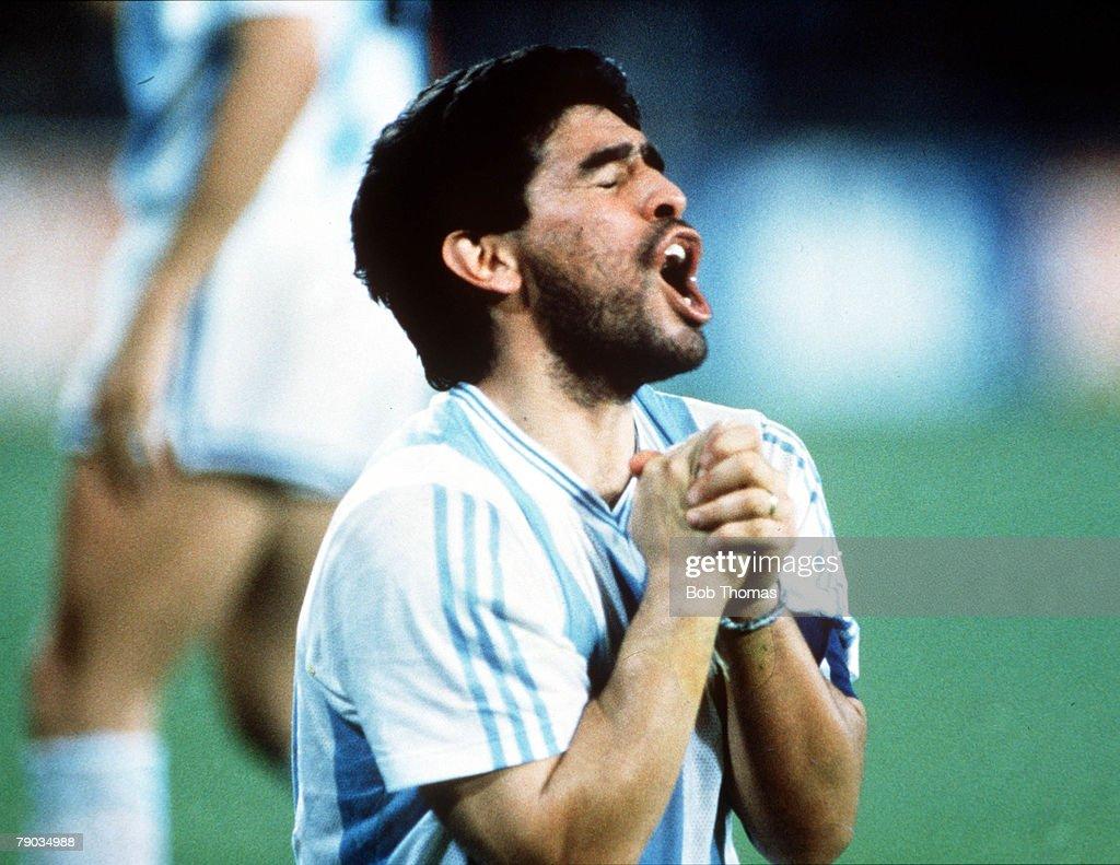 In Profile Diego Maradona s and
