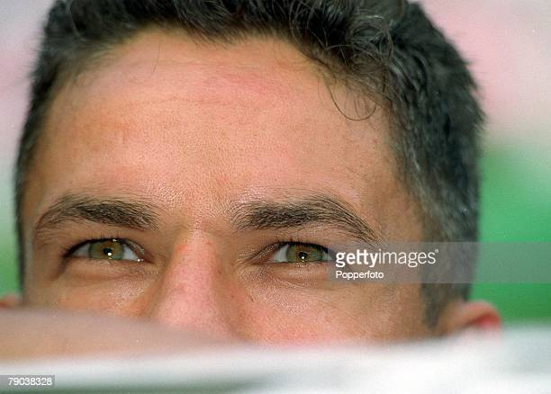 World Cup Finals Quarter Final Paris France France 0 v Italy 0 Italy's Roberto Baggio before the match