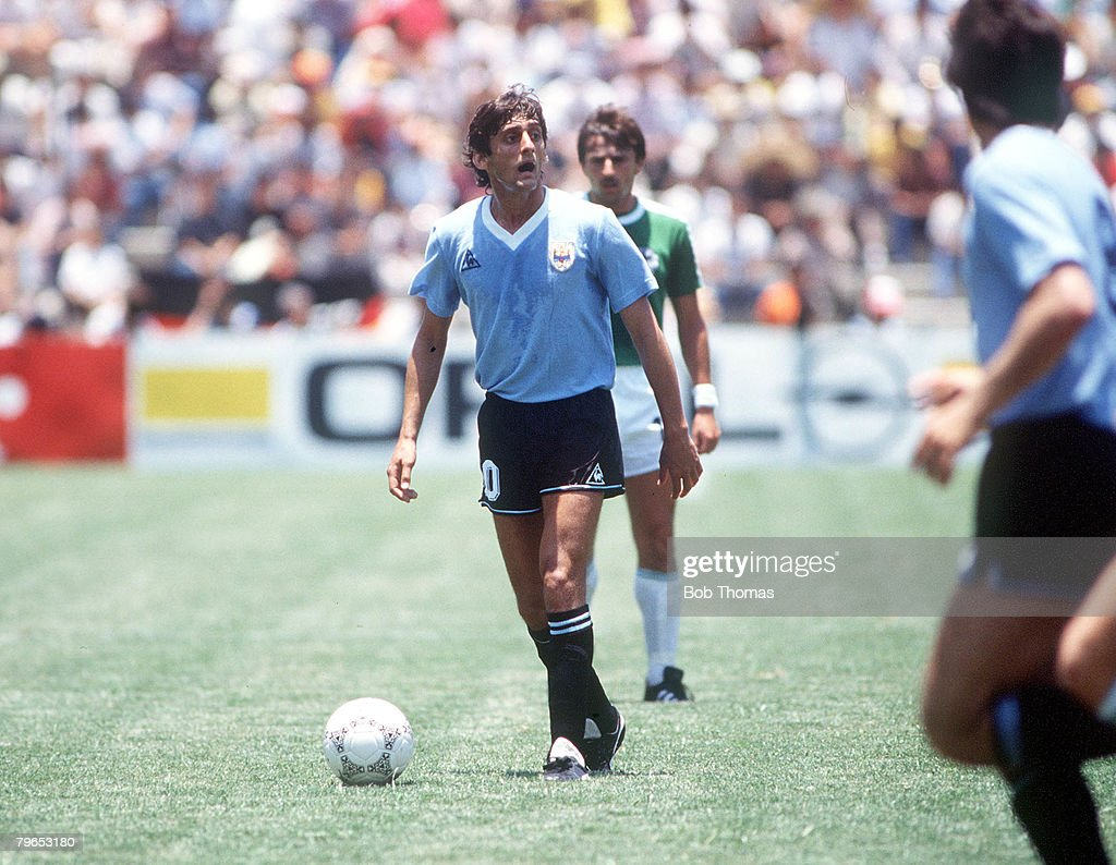 1986 World Cup Finals Queretaro Mexico 4th June 1986 West