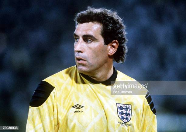 World Cup Finals Second Phase Bologna Italy 26th June England 1 v Belgium 0 England goalkeeper Peter Shilton