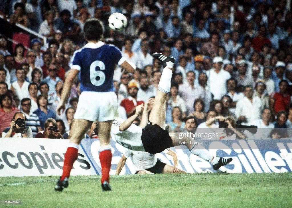 Image result for klaus fischer goal vs France
