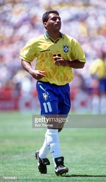 World Cup Finals Stanford USA 20th June Brazil 2 v Russia 0 Brazil's Romario