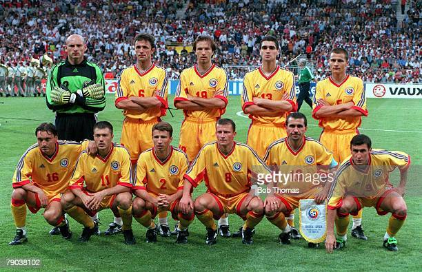 World Cup Finals Toulouse France 22nd June England 1 v Romania 2 Romania team group
