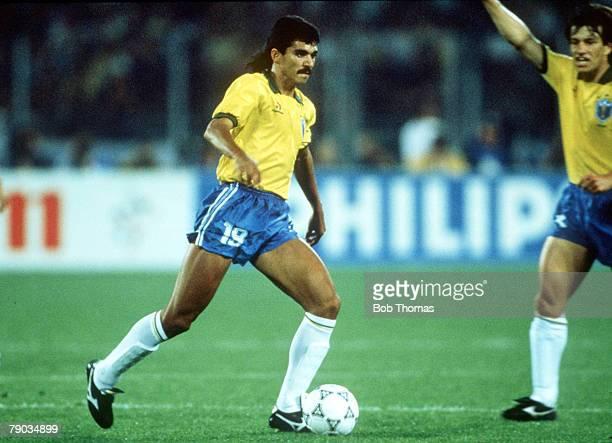 World Cup Finals Turin Italy 20th June Brazil 1 v Scotland 0 Brazil's Ricardo