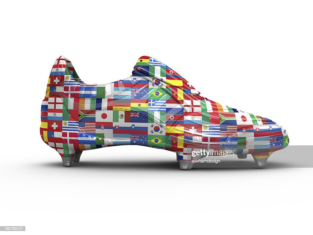 World Cup Football boot : Stock Photo