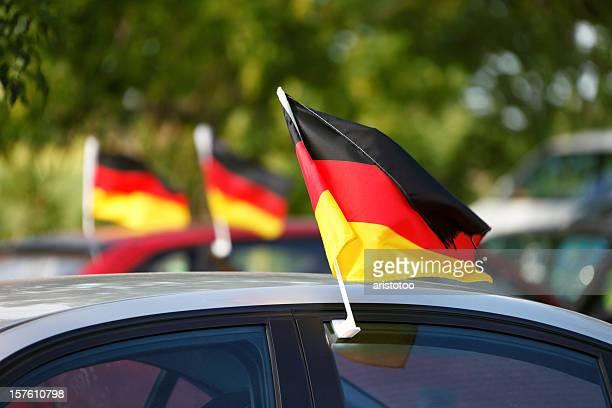 World Cup deutsche Flags für Autos