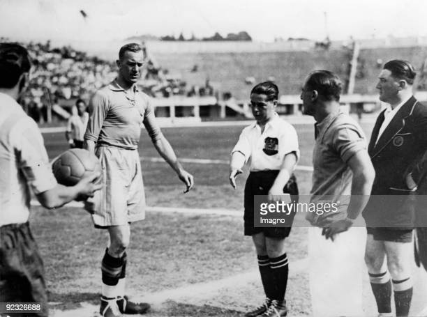 World Cup match Sweden versus Argentinia Bologna Italy Photograph May 27th 1934