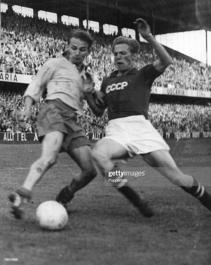 1958 World Cup Quarter Final Stockholm Sweden 19th June 1958