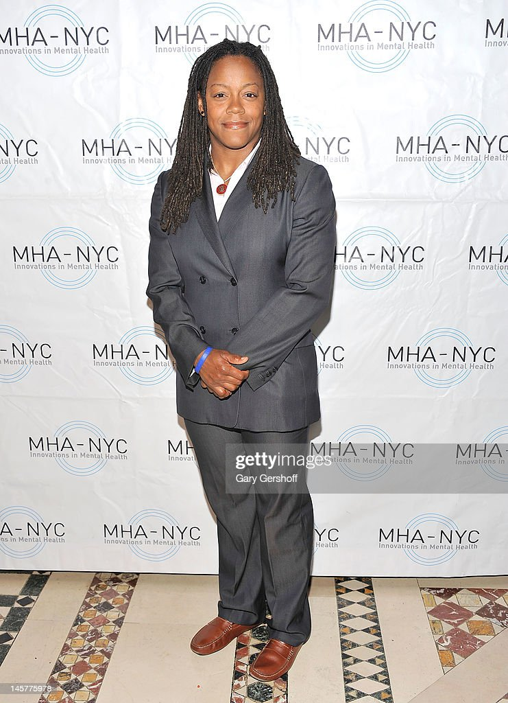 World Cup rugby star Phaidra Knight attends the 2012 Mental Health Association of New York City Celebration of Hope Gala at Cipriani 42nd Street on June 5, 2012 in New York City.