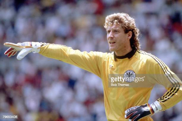 World Cup Semi Final Guadalajara Mexico 25th June West Germany 2 v France 0 West German goalkeeper Harald Schumacher