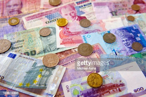 World Currencies : Stock Photo