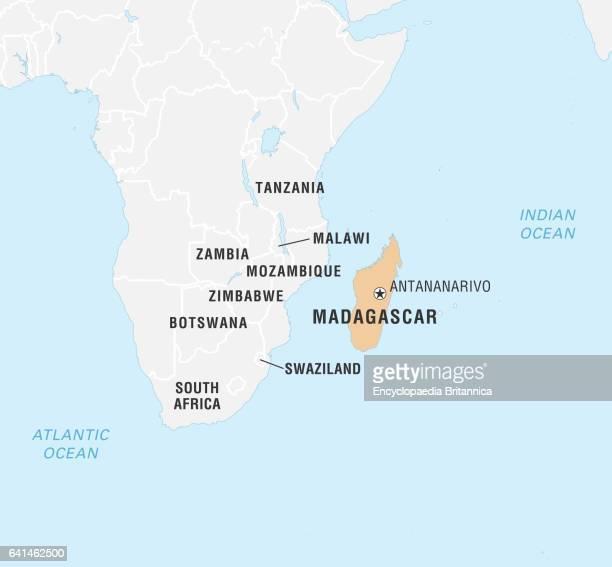 World Data Locator Map Madagascar