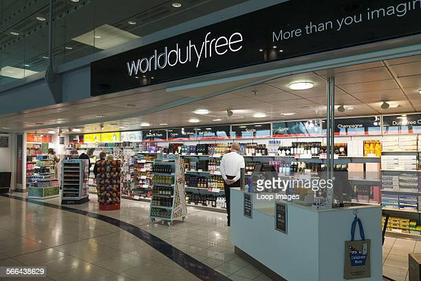 World Duty Free shop at Gatwick airport