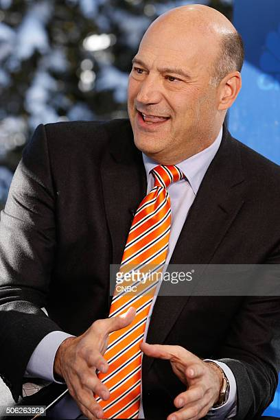 DAVOS 2016 World Economic Forum Pictured Gary Cohn President and COO of Goldman Sachs in an interview at the annual World Economic Forum in Davos...