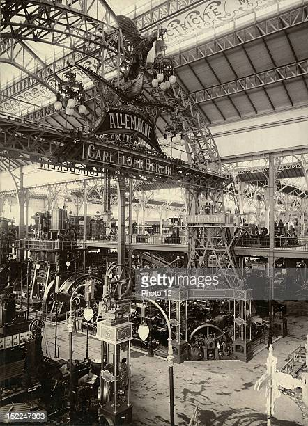 World Exhibition Paris German section of the Galerie des Machines Print Private collection