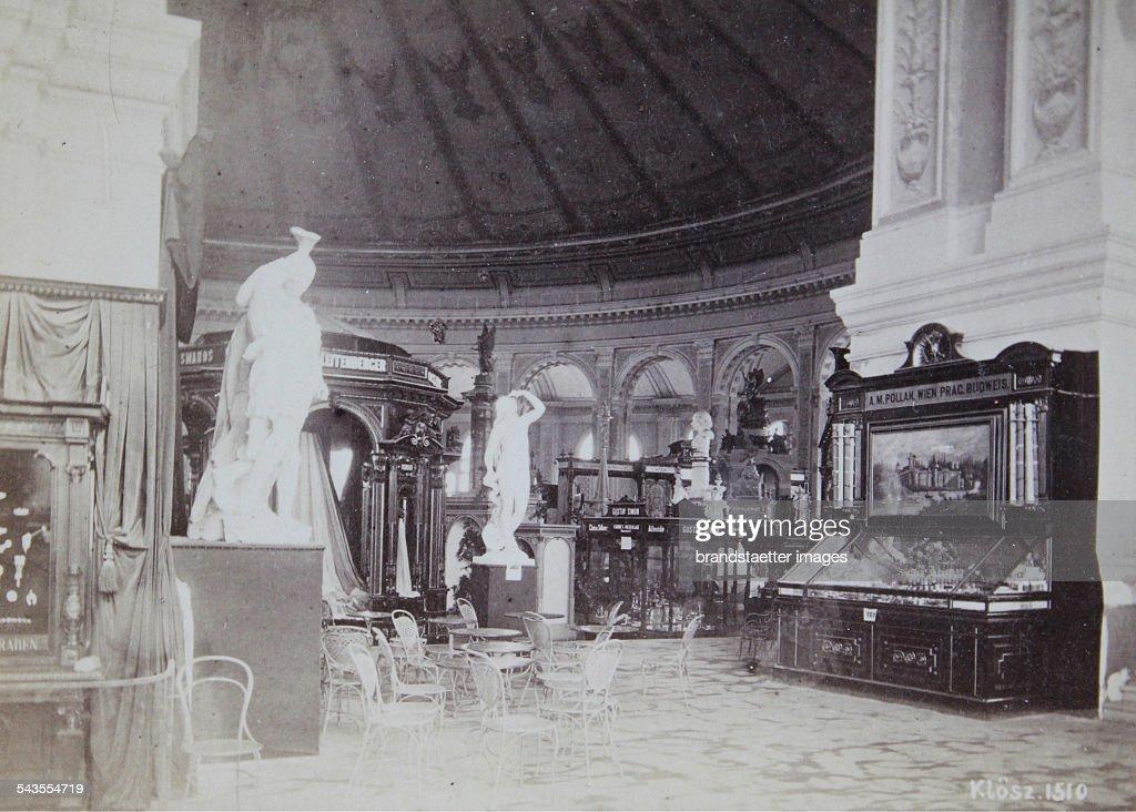 World Exhibiton In Vienna 1873 Interior Of The Rotunda Photograph By