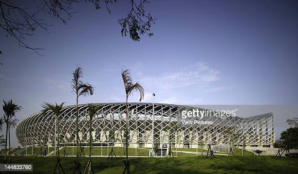 World Games StadiumKaohsiungTaiwan Architect Toyo Ito World Games 2009 Stadium Main Facade