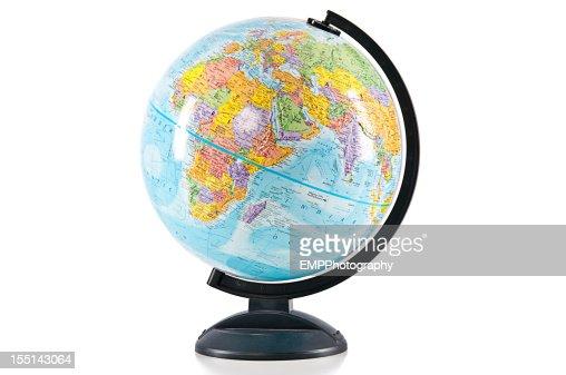 World Globe Isolated on White