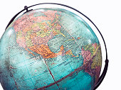 World Globe Map Model Isolated Education object
