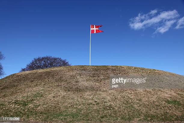UNESCO World Heritage - Burial mound Jelling Denmark