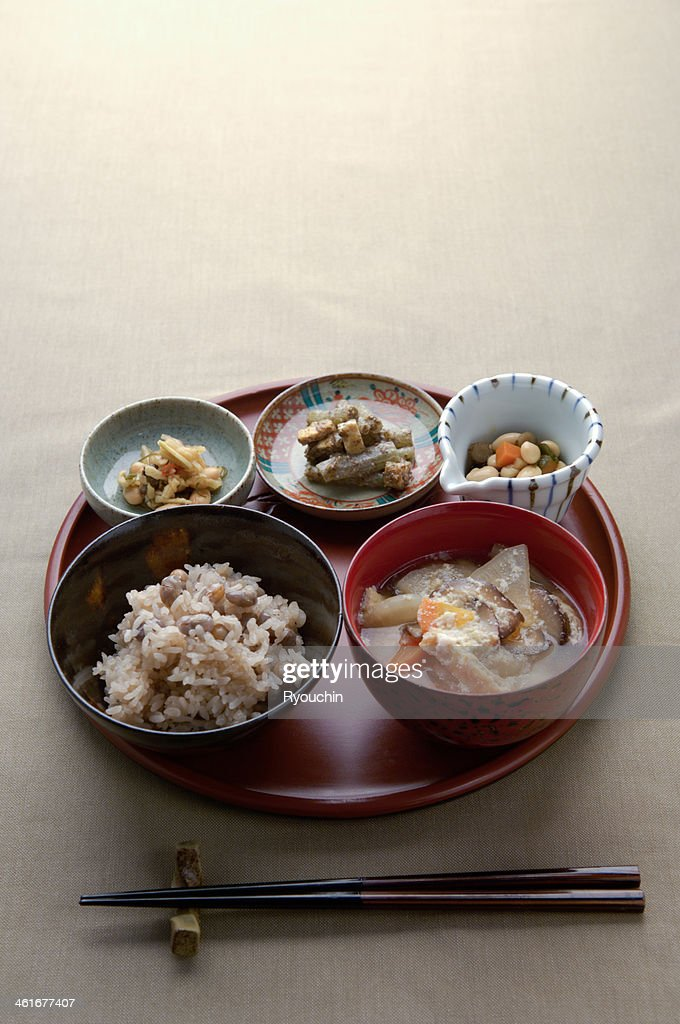 World heritage, Japanese-style food : Stock Photo