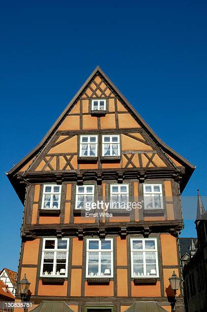 UNESCO World Heritage Site, Quedlinburg, Germany, Saxony-Anhalt
