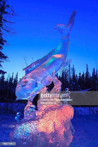World Ice Art Championships sculpture