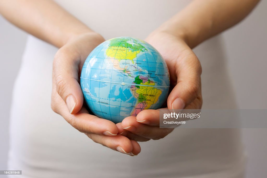 World in your hands : Stock Photo
