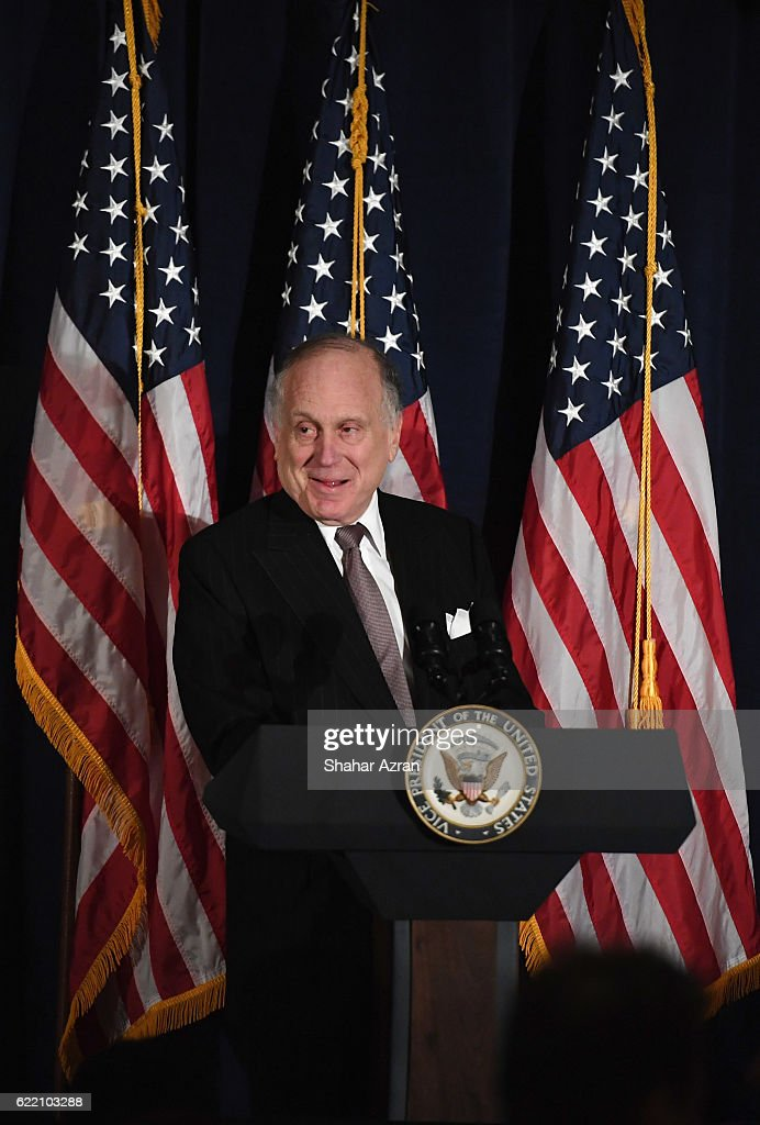 World Jewish Congress President Ronald S. Lauder at the 2016 World Jewish Congress Herzl Award Dinner at The Pierre Hotel on November 9, 2016 in New York City.