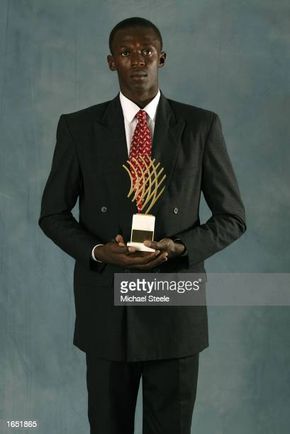 World Junior 200m Champion Usain Bolt of Jamaica wins the Rising Star Award during the IAAF Athletics Gala at the Sporting Club in Monte Carlo Monaco...