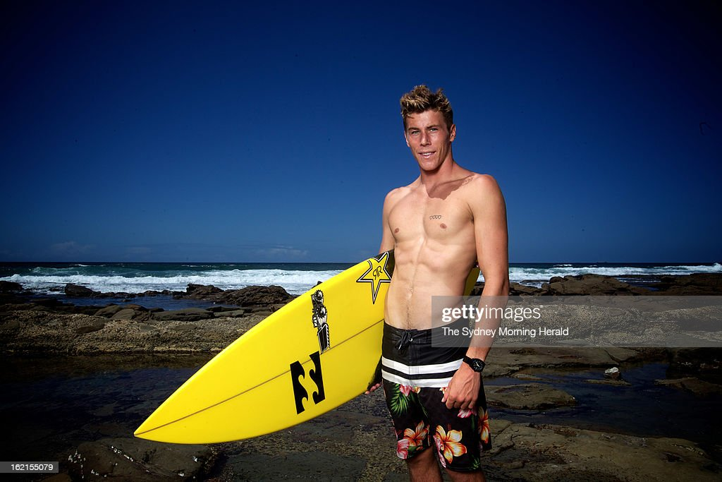 World Junior Champion Jack Freestone poses on February 19, 2013 in Newcastle, Australia. Australia's four world champion surfers are in Sydney to celebrate Surfing Australia's 50th anniversary.