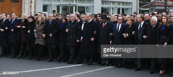 World leaders and dignitaries including Spanish Prime Minister Mariano Rajoy British Prime Minister David Cameron Israeli Prime Minister Benjamin...