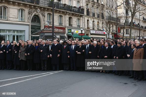 World leaders and dignitaries including Spanish Prime Minister Mariano Rajoy British Prime Minister David Cameron Israeli Prime Minister Benjamin...