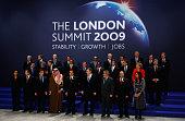World Leaders including US President Barack Obama British Prime Minister Gordon Brown Australian Prime Minister Kevin Rudd French President Nicolas...