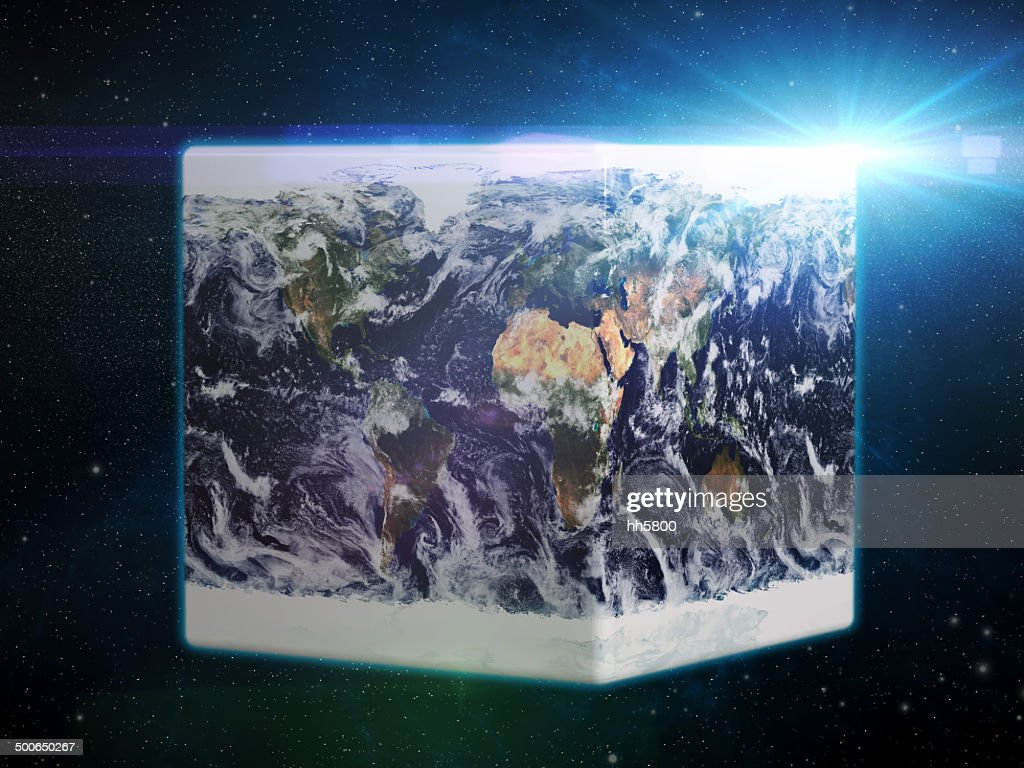 World map cube concepts stock photo getty images world map cube concepts stock photo sciox Gallery