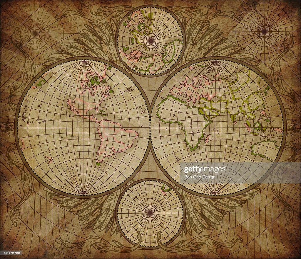 World Map : Stock Photo