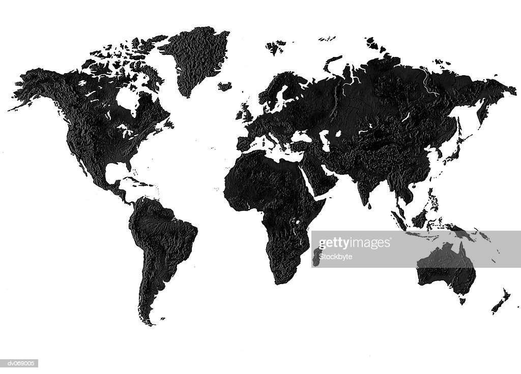 World map : Stock Photo