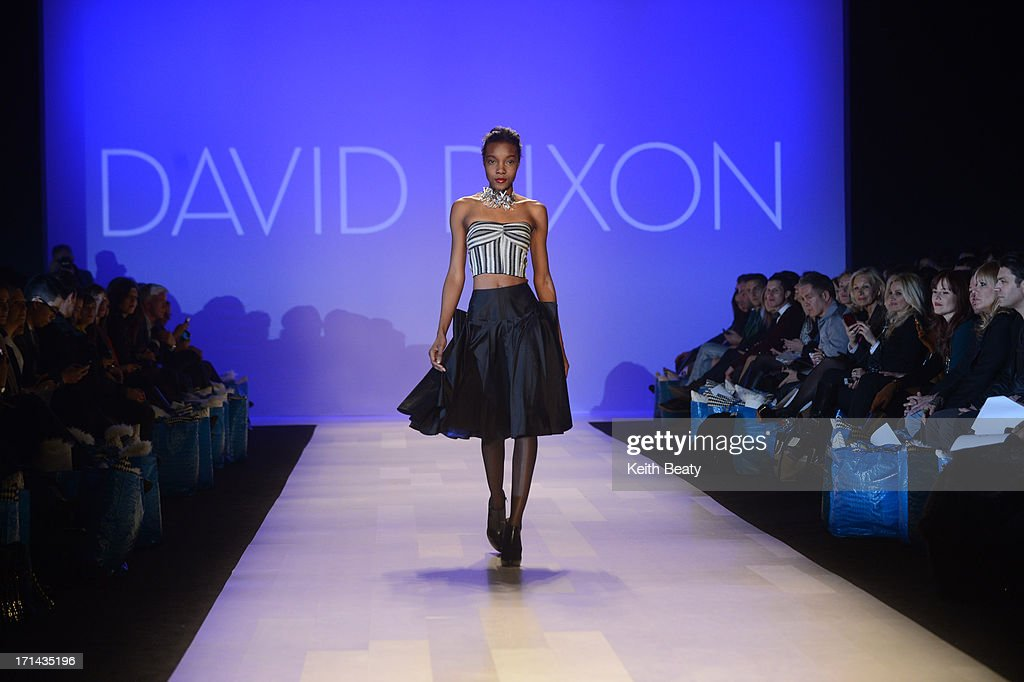 World MasterCard Fashion Week Fall 2013 Collection in Toronto - David Dixon - Runway