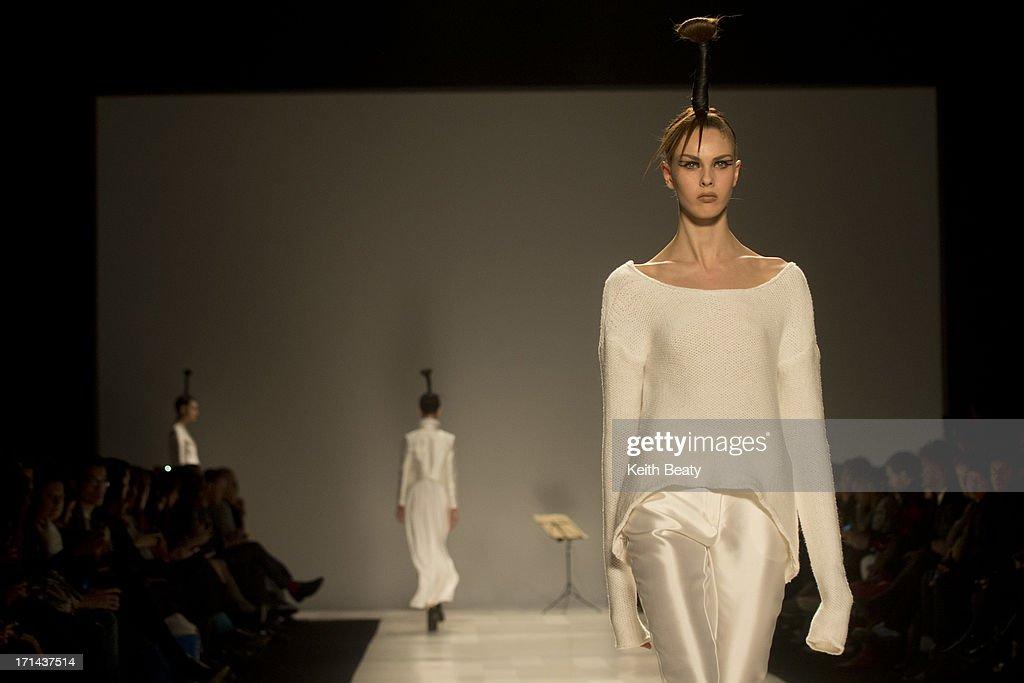 World MasterCard Fashion Week Fall 2013 Collection in Toronto - Sid Neigum - Runway