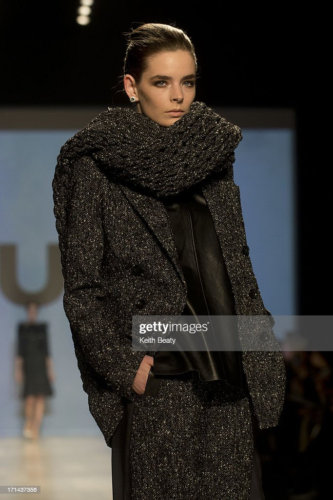 World MasterCard Fashion Week Fall 2013 Collection in Toronto - Mercedes-Benz Start Up Presents: DUY - Runway