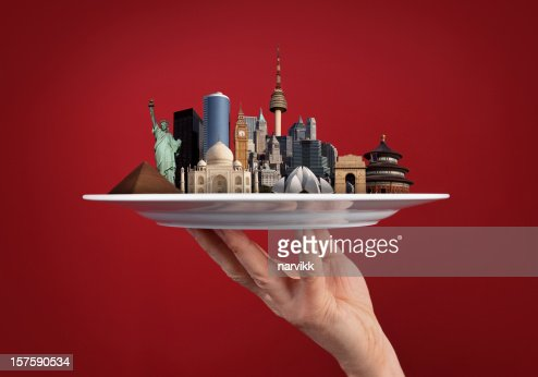 World Monuments in One Hand