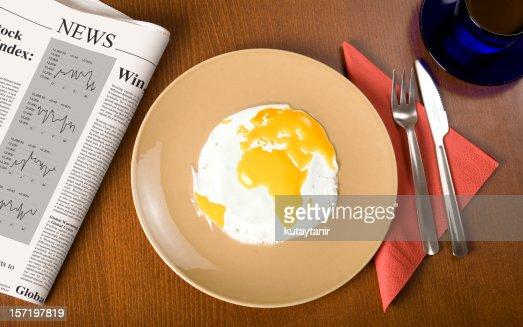 Mondo con prima colazione
