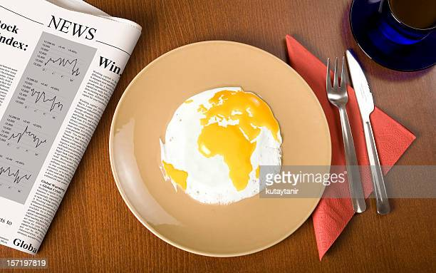 World on breakfast