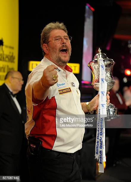 World Professional Darts Championships Final at the Lakeside Country Club Frimley Green UK Martin Adams ENG Vs Dean Winstanley ENG Adams won a close...