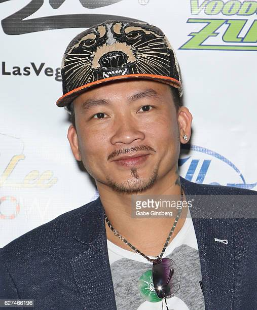 World Series of Poker Champion Qui Nguyen attends the All in for CP celebrity charity poker event at the Rio Hotel Casino benefiting the One Step...