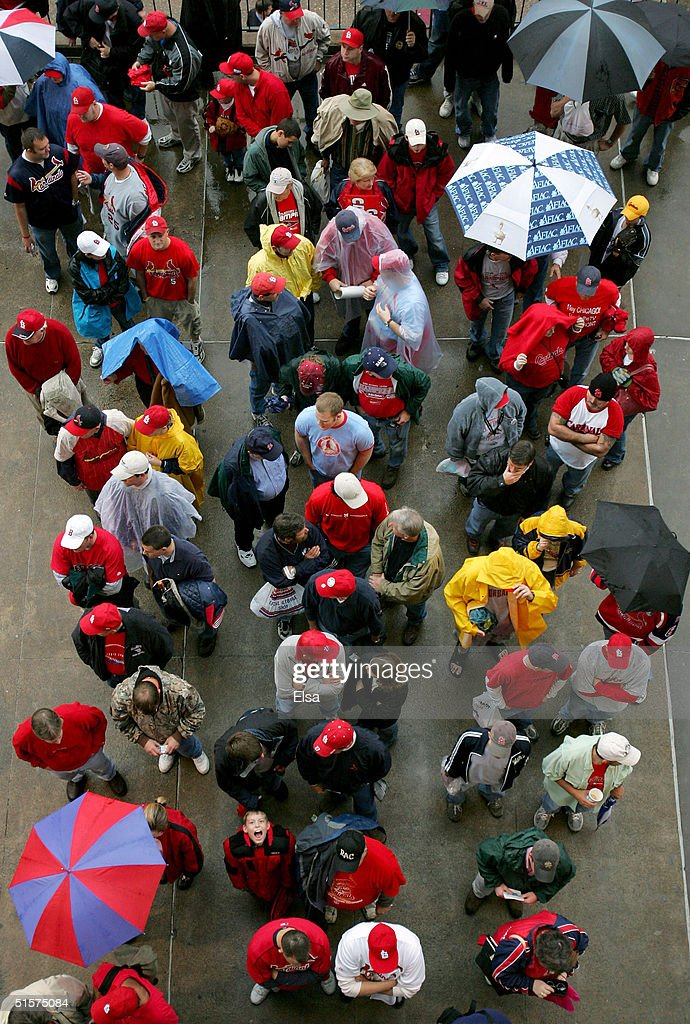 World Series:  Red Sox v Cardinals Game 3 : Stock Photo